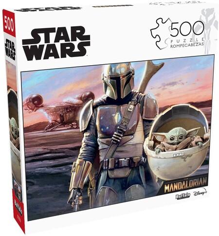 Rompecabezas de Star Wars en promoción
