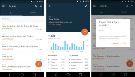 Bitly estrena su aplicación para Android