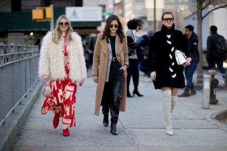 Estos son los 7 tipos de abrigos que necesitas este invierno, según el street style de Nueva York