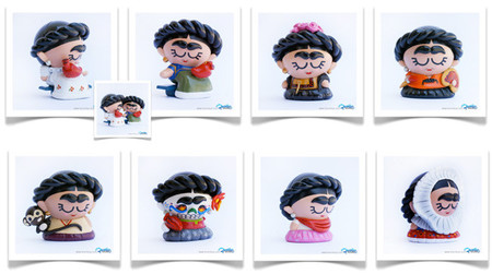 Frida Kahlo en Art Toy, figuras de Favoritoy