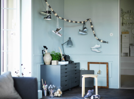9 ideas funcionales y decorativas para organizar los zapatos