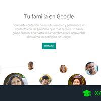 Cómo crear una cuenta familiar en Google para compartir diferentes servicios