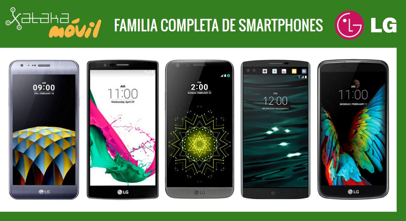38c4aee390f Así queda el catálogo de smartphones LG tras la llegada del nuevo LG K5