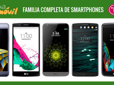 Así queda el catálogo de smartphones LG tras la llegada del nuevo LG K5