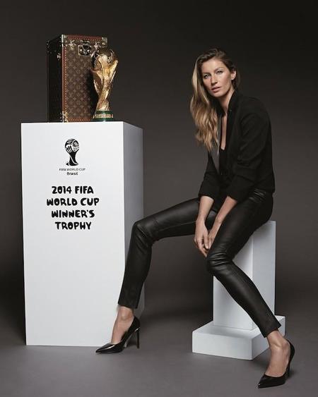 Gisele Bündchen y Louis Vuitton juntos por el Mundial de Fútbol 2014