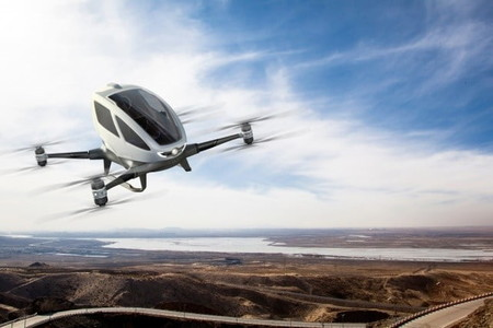Dron Taxi Autonomo Huawei