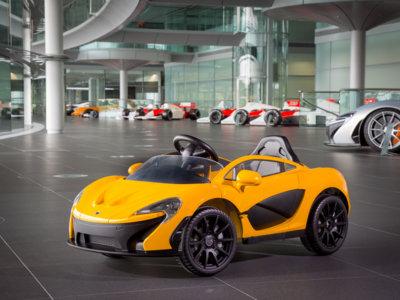 El nuevo McLaren de acceso cuesta sólo 431 euros... y sí, es de juguete