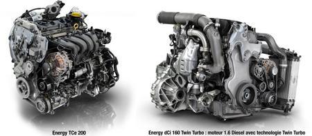 Motores dCi y TCe - Renault Espace 2015