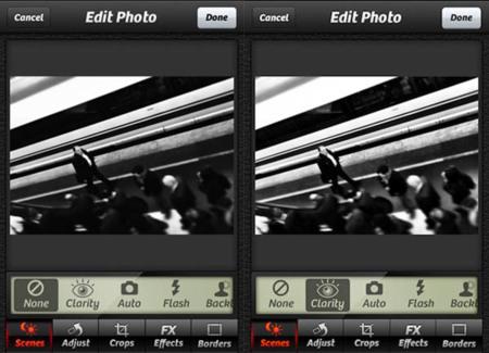 Clarity de Camera+