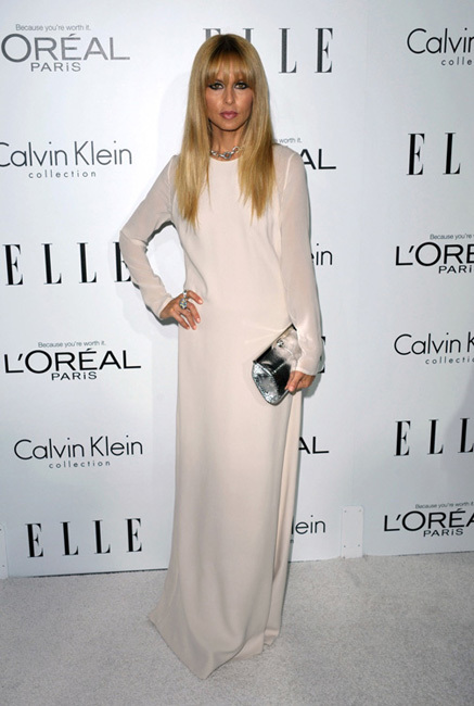 Rachel zoe fiesta Elle Women in Hollywood 2012