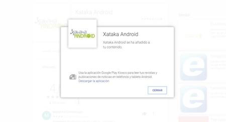 El cambio de Kiosco a Google News deja inservible en España la sección Kiosco de Google Play
