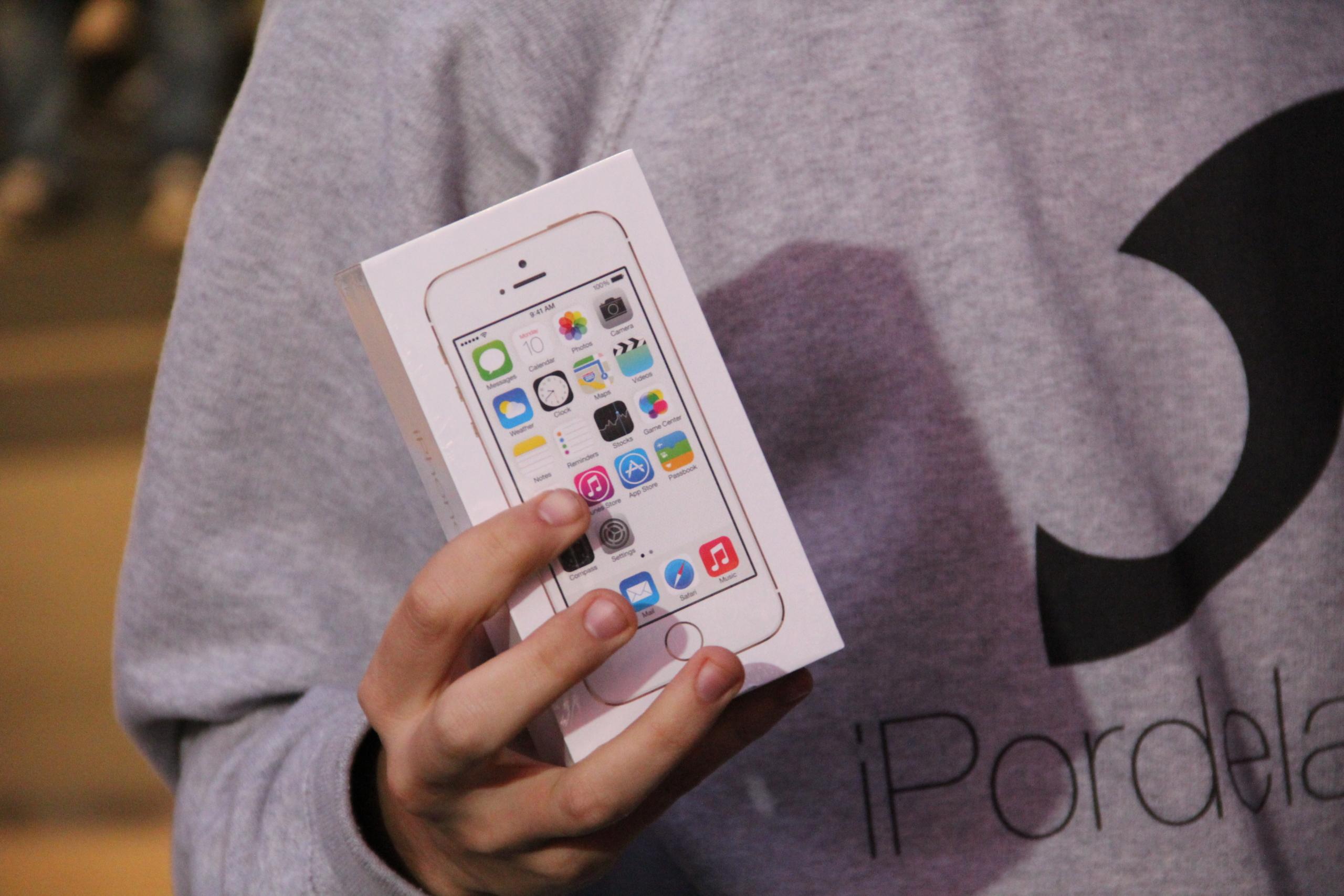 Foto de Lanzamiento de los iPhone 5s y 5c en Barcelona (11/17)