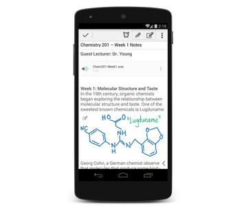 Evernote para Android se actualiza y añade la escritura a mano alzada