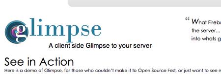 Glimpse: como Firebug, pero para ASP.NET del lado servidor