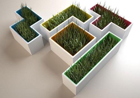 Maceteros Tetris