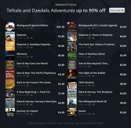 ¿Fans de las aventuras de Daedalic y Telltale? Echad un vistazo a esta promo en GOG