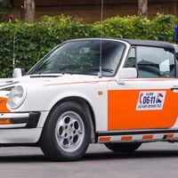 Este Porsche 911 Targa de la policía holandesa se ha vendido por 109.000 euros