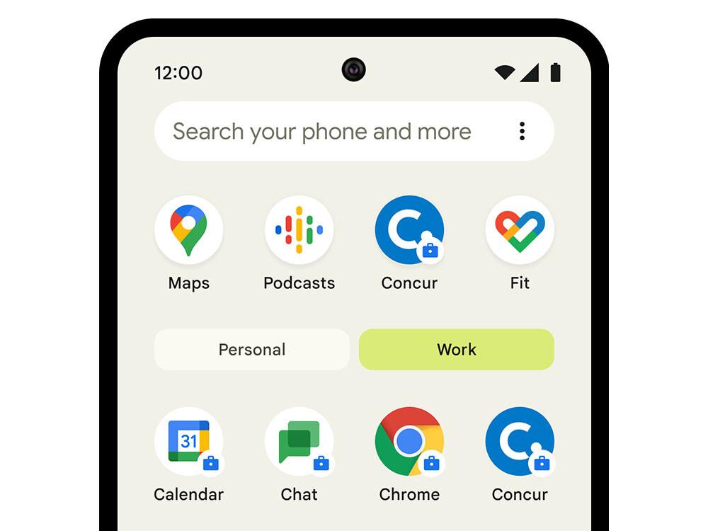 Google permitirá a todas las cuentas Workspace activar el perfil de trabajo en sus dispositivos Android