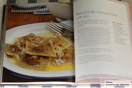 Pasta rellena libro de cocina