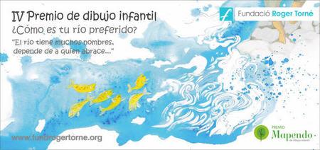 El premio Mapendo de dibujo infantil propone la pregunta '¿cómo es tu río favorito?'