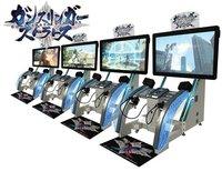 'Gunslinger Stratos', la nueva y exagerada máquina arcade de Square Enix para el mercado Japonés