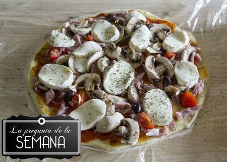 ¿Sois de los de hacer pizza en casa o de los que la compráis siempre hecha? La Pregunta de la Semana