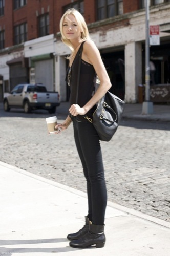 Looks de calle: vuelta a la universidad rock