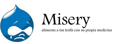 Misery, un auténtico antitrolls para Drupal