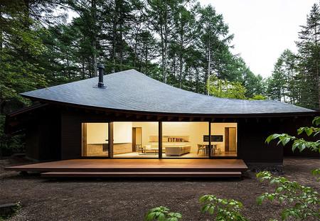 La Casa Cuatro Hojas, una sorprendente casa de arquitectura moderna en Japón que nos parece muy inspiradora