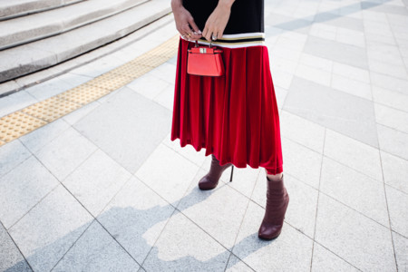 Chriselle Lim Kye Low Classic Red Dress 5
