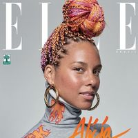 Alicia Keys y su #nomakeup en el September Issue de Elle Brasil, ¿es totalmente real?