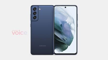 Samsung Galaxy S21 Fe Renders Filtracion Diseno
