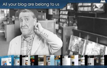 All your blog are belong to us (XLI)