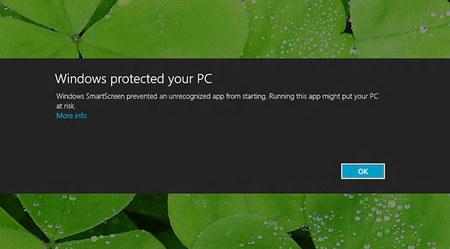 Windows 8 Smart Screen