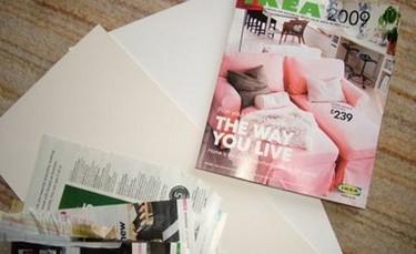 Qué hacer con tu viejo catálogo de Ikea