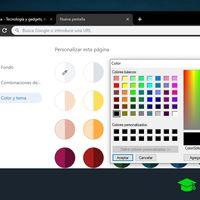 Cómo crear un tema personalizado en Chrome con su nueva opción