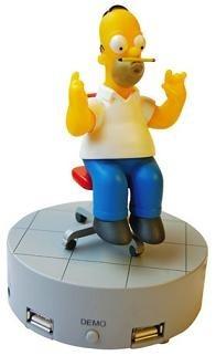 Multi puerto USB de Homer