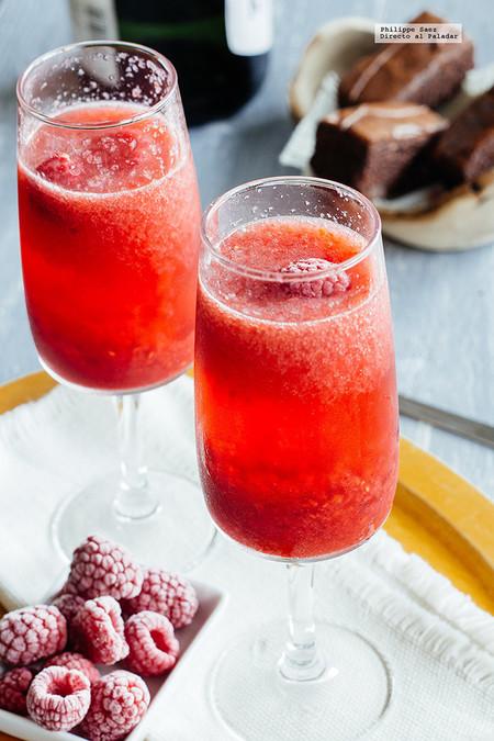Coctel Mimosa De Frambuesa