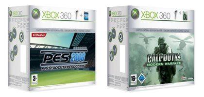 Xbox 360 packs navideños