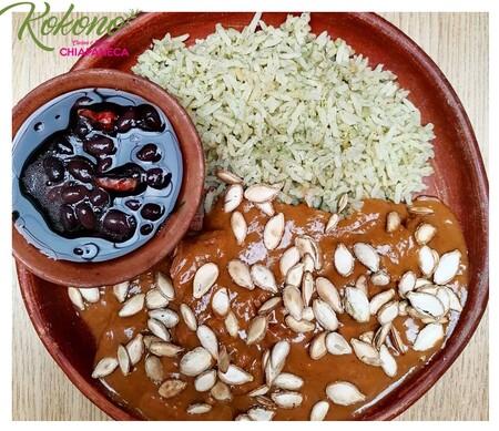 Kokonó, cocina tradicional chiapaneca.