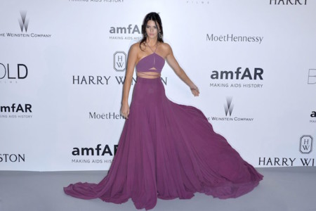 Kendall Jenner Amfar 2015 2