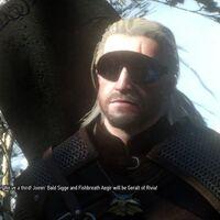 Tan inesperada ha sido la nieve estos días, como este mod de The Witcher 3 que te permite hacer snowboard con Geralt de Rivia