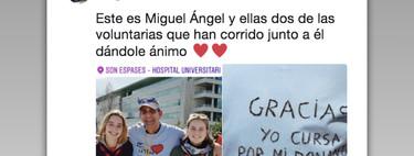 """""""Yo corro por mi donante"""": la emocionante historia de Miguel Ángel en la Cursa Son Espases"""