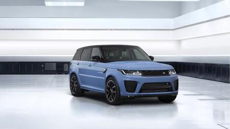 El Range Rover Sport SVR Ultimate Edition es un SUV de 575 CV, ahora con pintura de cristal triturado y otros detalles exclusivos