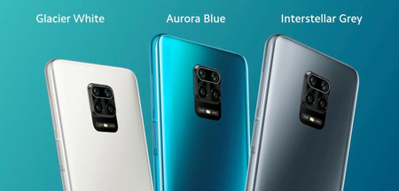 Redmi Note 9s Colores