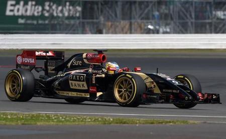 Así lucen las llantas de 18 pulgadas en un monoplaza de Fórmula 1