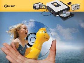Sony DVDirect, un sólo botón para grabar