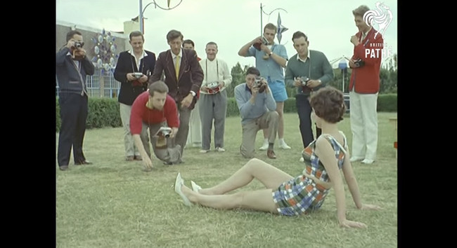 Cómo era un workshop fotográfico en los años 60.