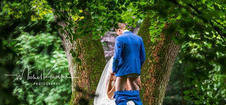 Una foto de bodas con contenido sexual está dando la vuelta al mundo a través de las redes sociales