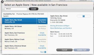 La web de la Apple Store estrena su servicio de recogida en las tiendas oficiales